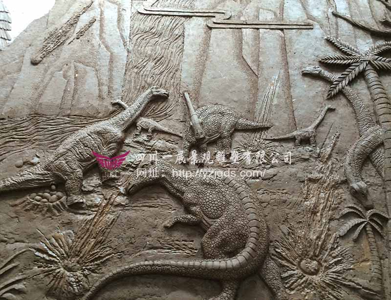 """湖北""""侏罗纪""""恐龙浮雕ManBetX万博体育官方"""
